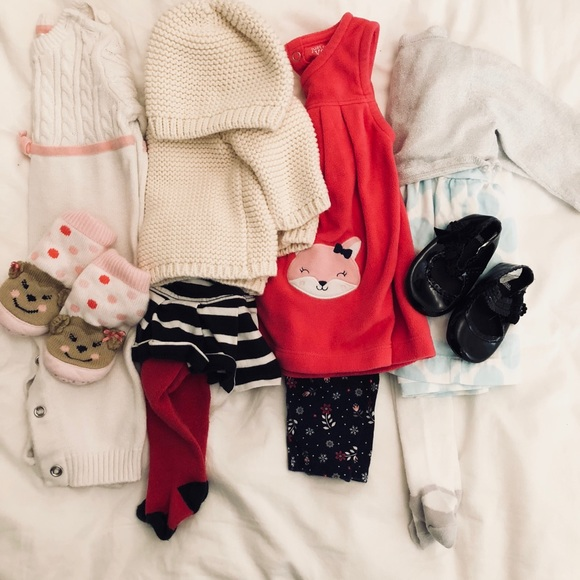 48647e50d8037 GAP Dresses | Baby Girl Winter Dress Up Bundle | Poshmark